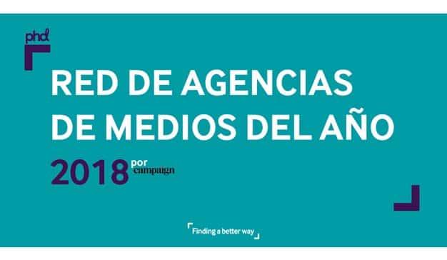 PHD nombrada Red de Agencias de Medios del Año por la revista Campaign