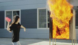 Samsung ha creado un florero que sirve como extintor