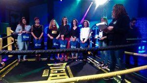 Seis mujeres emprendedoras suben al ring de Entrepreneurs Fight Club en el WomenIN19
