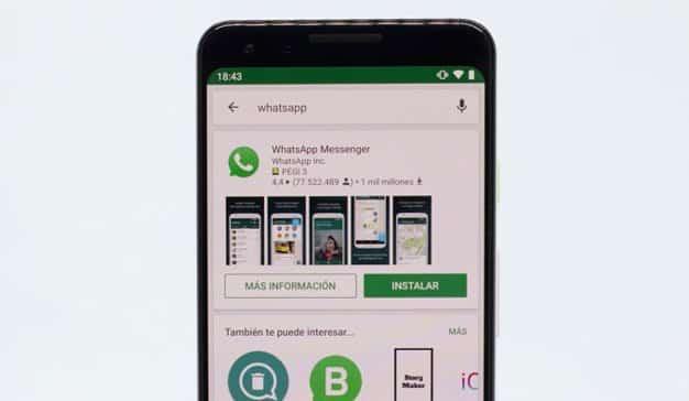 WhatsApp aplicación oficial