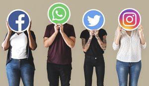 Los ciudadanos llevan la delantera a los partidos en las redes sociales