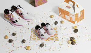 Dunkin' Donuts lanza sus propias zapatillas de deporte