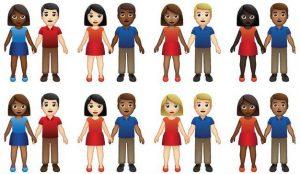 Tinder logra que las parejas interraciales tengan sus propios emojis