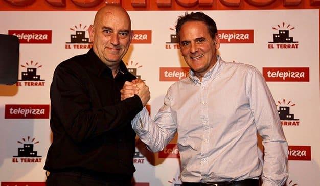 Telepizza y El Terrat se unen para llevar a los hogares españoles