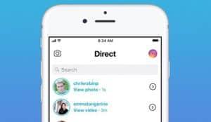 Instagram comienza a testar una herramienta de co-visionado en los chats de Direct