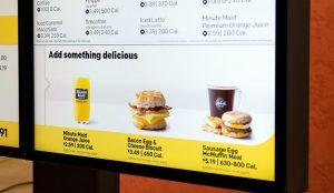 McDonald's invierte en tecnología para revolucionar sus menús