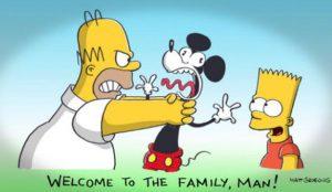 Los Simpsons y Deadpool dan una