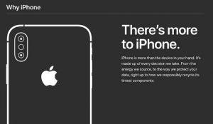 Apple se hace responsable del medio ambiente y de los usuarios en la campaña