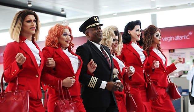 Virgin permitirá a sus azafatas trabajar sin maquillaje