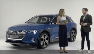 Audi retransmite en vivo por primera vez en España la presentación de su automóvil 100% eléctrico