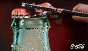 Son de papel, pero en estos anuncios de Coca-Cola (casi) escuchará las burbujas