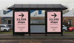 En esta campaña IKEA insta a sus clientes a prender los motores de sus propias piernas para caminar