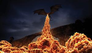 En esta llameante campaña de KFC el pollo lo fríen los dragones de Juego de Tronos