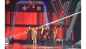 Los cuatro finalistas de 'La Voz' cantan juntos por primera vez 'Por ti', la canción del nuevo spot de Cepsa
