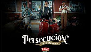 Con una persecución a la italiana, LAIVE y McCann Lima innovan el tradicional sampling
