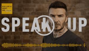 David Beckham pone voz a las víctimas de la malaria en la campaña #MalariaMustDie