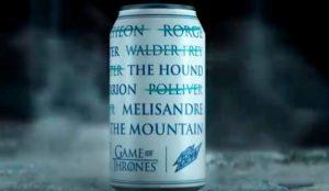 #ForTheThrone: Mountain Dew lanza latas de refresco inspiradas en Juego de Tronos