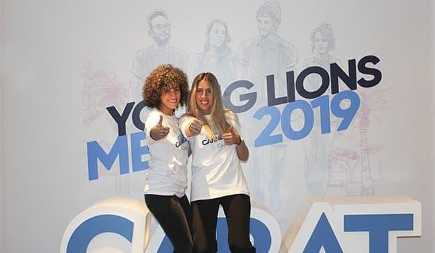 Mónica Castilla y María Roca, ganadoras de los Young Lions Media 2019 en España