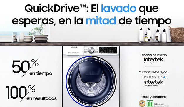 WYSIWYG* firma la nueva campaña de Lavadoras Samsung