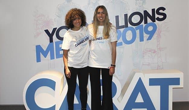 María Roca y Mónica Castilla