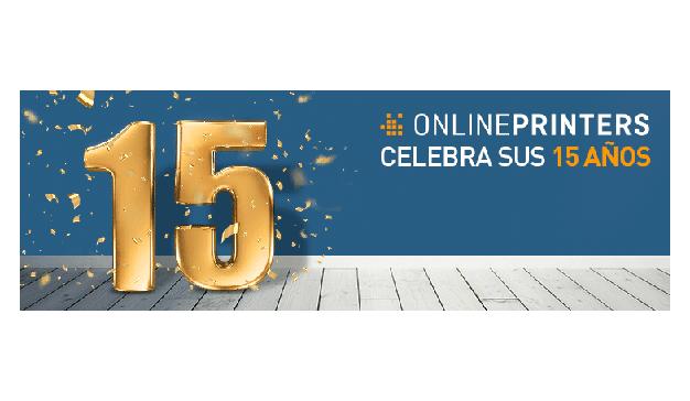 Onlineprinters celebra 15 años de comercio electrónico