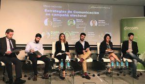 Los 5 principales partidos políticos analizan las estrategias de comunicación en campaña electoral