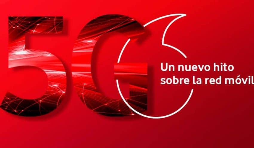 Vodafone estrena el 5G en 15 ciudades españolas este 15 de junio