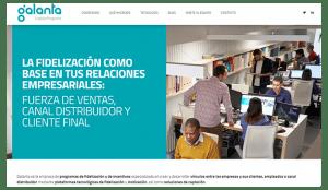 Galanta y su web: confección y diseño de un programa de fidelización