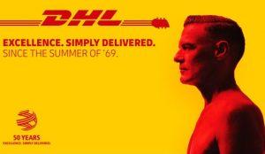 DHL celebra sus 50 años en una musical campaña con banda sonora a cargo de Bryan Adams