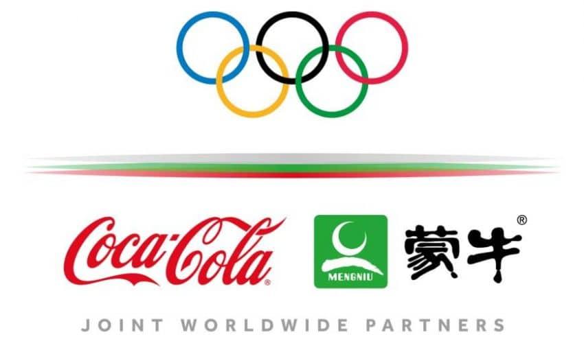 Coca-Cola y Mengniu cierran conjuntamente el mayor patrocinio de unos JJ.OO. por 3.000 millones de dólares