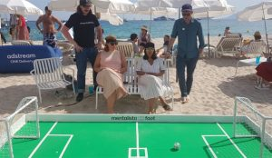 ¿Jugar al fútbol con la mente? En Cannes Lions hubo quienes disfrutaron de tan futurista pasatiempo