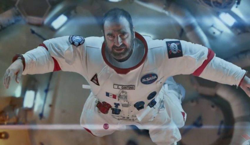 Éric Cantona: de futbolista a astronauta por el