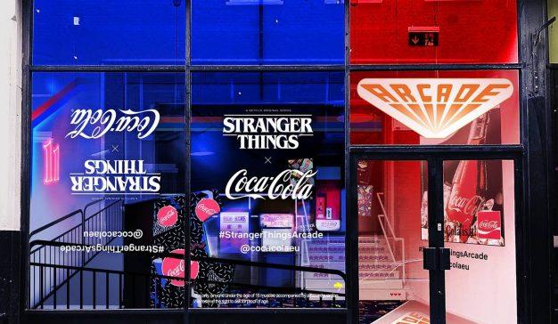 Coca-Cola crea un arcade inspirado en Stranger Things para abrir boca ante el estreno de la nueva temporada
