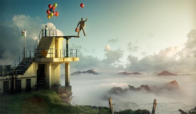 Para tocar las puertas del cielo (marketero) las marcas deben volar a bordo de la creatividad