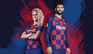 La nueva camiseta de Nike para el Barça deja