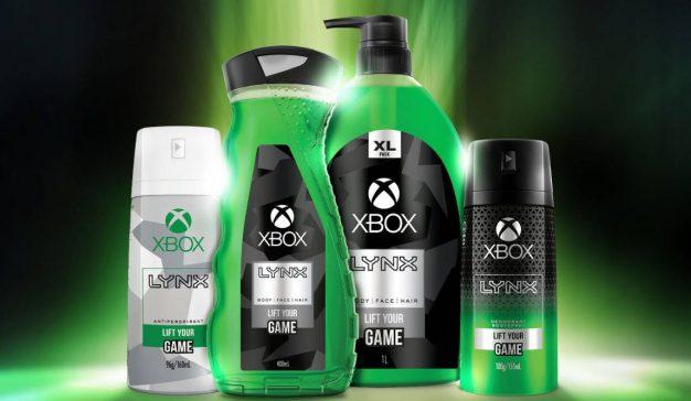 Microsoft y Axe crean Lynx Xbox, una gama de productos de higiene personal dirigida al público gamer