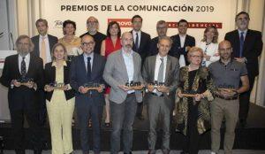La I edición de los Premios de la Comunicación entrega sus galardones