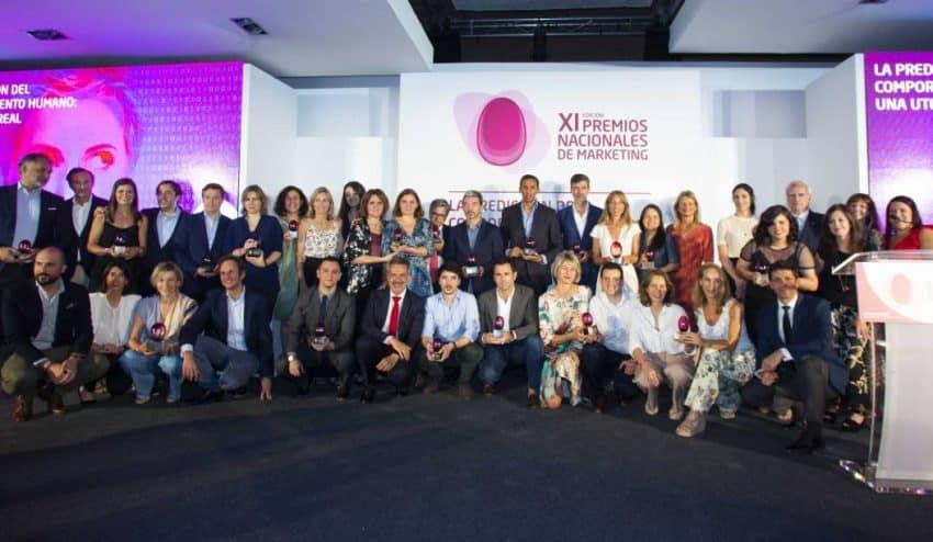 Estos son los ganadores de los Premios Nacionales de Marketing 2019