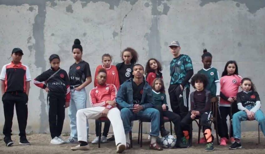 El club de fútbol parisino Red Star presenta su nueva camiseta a través de Street View