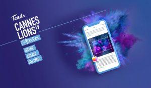 Teads creará campañas publicitarias a tiempo real en Cannes Lions