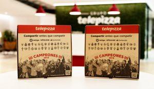 LaLiga Genuine Santander, protagonista de las Cajas Solidarias de Telepizza