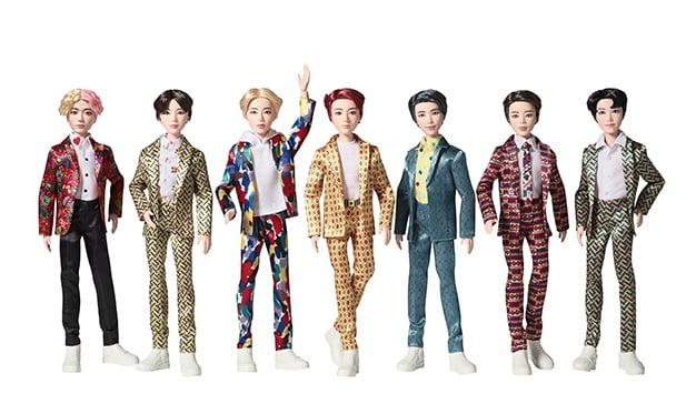 BTS-Mattel
