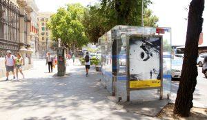 Las marquesinas JCDecaux se convierten en una exposición fotográfica de Iberia dentro del festival PHotoESPAÑA