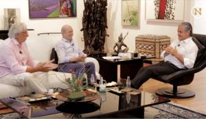 Agustín Medina y Juan Ramón Plana entrevistan a Marcos de Quinto en su nuevo formato audiovisual