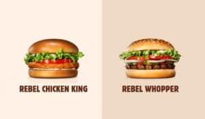 Burger King desafía a los clientes a distinguir sus hamburguesas con carne de la versión vegetariana