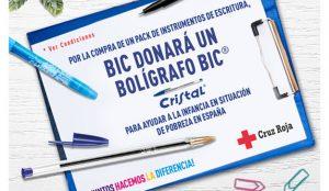 BIC lanza una campaña para mejorar el aprendizaje de niños en riesgo de exclusión social