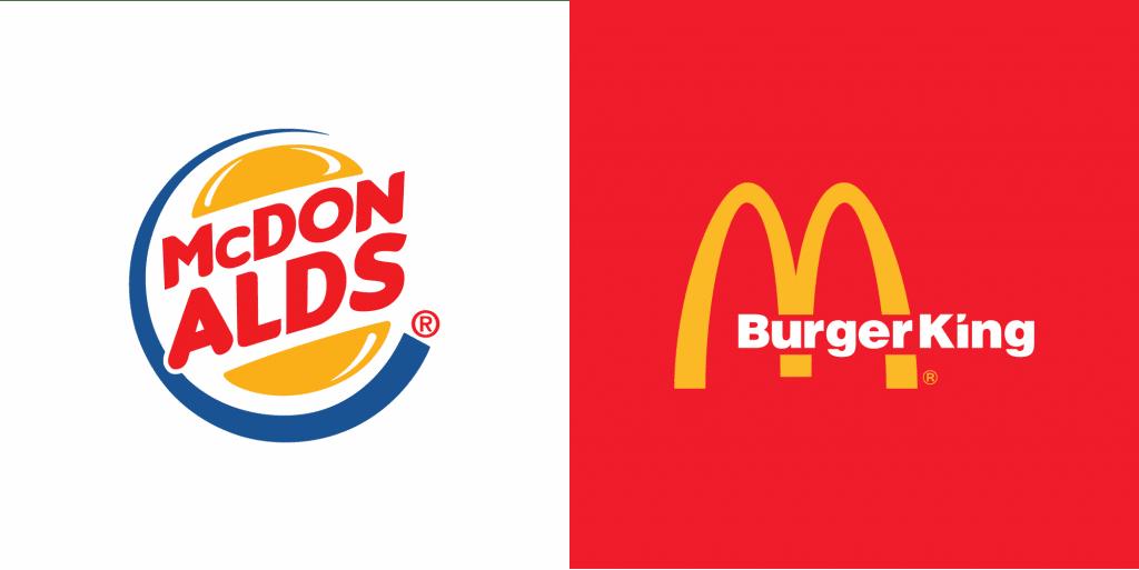 burger king mcdonalds