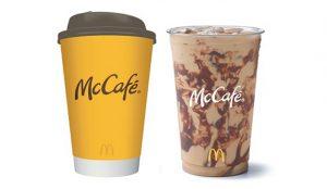 McCafé de McDonald's pasa por chapa y pintura para celebrar su décimo cumpleaños