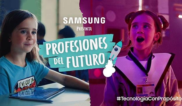 Profesiones-del-futuro-Samsung-campaña