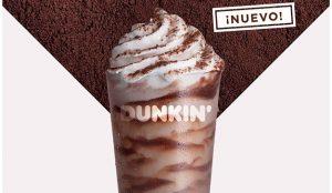 Dunkin' Coffee lanza un Frozen Dunkaccino de tiramisú